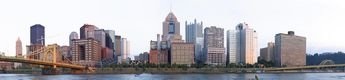 Pittsburgh from North Shore Trail