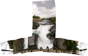 Spokane Falls, Spokane, WA © 2006 John Strait