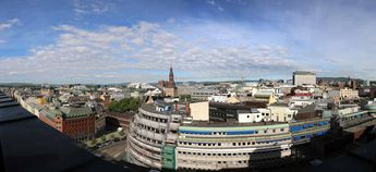 Oslo as seen from the top of Clarion Hotel Royal Christiania © 2014 Knut Dalen