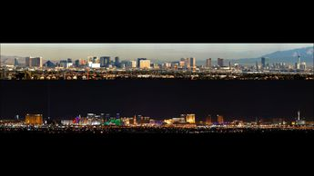 Las Vegas Day & Night © 2012 David Plambeck