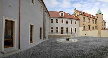 Courtyard, Prague Castle, The Czech Republic © 2015 Knut Dalen