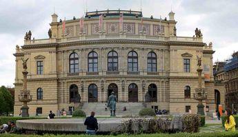 Close to Jan Pallach Square, Prague, the Chez Republic © 2015 Knut Dalen