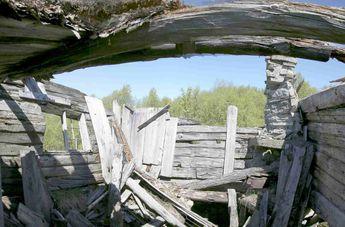 Old summer farm ruins, Hallingdal, Norway. © 2015 Knut Dalen