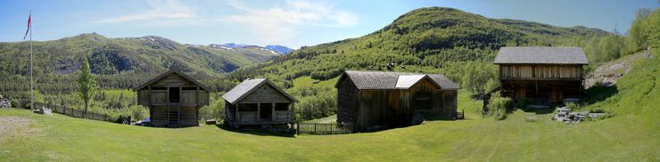 The old farm Søre-Bry, Hovet, Norway. © 2015 Knut Dalen