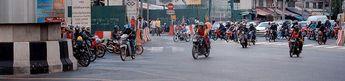 Bangkoktraffic © 2002 Alan Hauge Christensen, Denmark, http://home1.inet.tele.dk/alanhc/