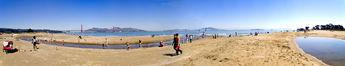 Saturday Morning At East Beach, The Presidio, San Francisco © 2005 Edward Oest