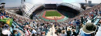 olympic stadium panorama © 2003 Graham Downie
