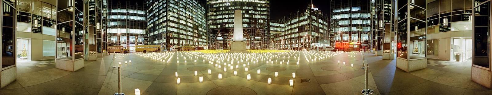 Light Up Night 1999 -- PPG Plaza © 1999 John Strait